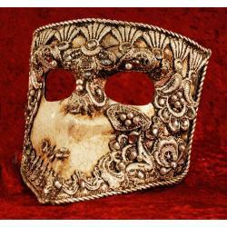 Maska wenecka tradycyjna - Bauta ,model macrame