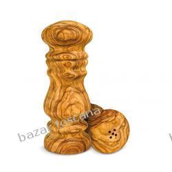 Solniczka z drewna oliwkowego