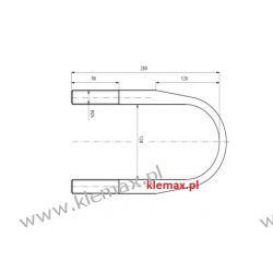STRZEMIĘ RESORU FRUEHAUF M24 x 2 x 128 x 280 mm