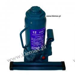 PODNOŚNIK HYDRAULICZNY 12T - min 230 mm NIEBIESKI  Części do maszyn rolniczych