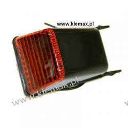 LAMPA OBRYSOWA NA DACH VOLVO FH12 POMARAŃCZOWA, Z KABLEM L=280mm, 24V  Duże podzespoły
