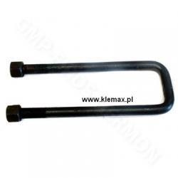 STRZEMIĘ RESORU KAMAZ 65115 z nakrętkami M20x1,5 x 77 x 270mm