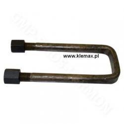 STRZEMIĘ RESORU KAMAZ PRZÓD z nakrętkami M20 x 1,5/240mm