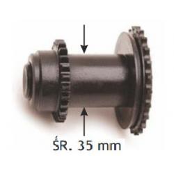 ZĘBATKA SAMOREGULACJI LEWY GWINT ŚR. 35 mm Duże podzespoły