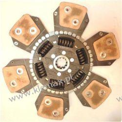 TARCZA SPRZĘGŁA JOHN DEERE fi 325, wielowypust 26,15x32,2mm - 10 zębów  Części do maszyn budowlanych