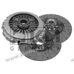 SPRZĘGŁO KOMPLETNE KPL. VOLVO FH12, FH16, FM12,  2 TARCZOWE Fi 400mm