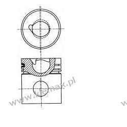 TŁOK SILNIKA MAN D0226 MKF FI102 mm GOETZE