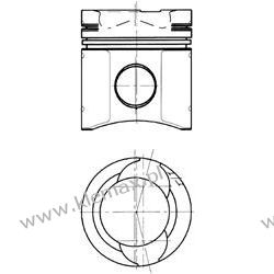 TŁOK SILNIKA MAN D2866 EURO1 KOLBENSCHMIDT Fi 128mm Pompy wtryskowe
