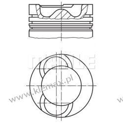TŁOK SILNIKA KPL. DAF, NEOPLAN, WS242, WS268, W295 1991 - 1993 Fi 130 mm MAHLE