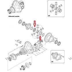 KORONKA TYLNEGO MOSTU DAF 65CF, CF65, 75CF, CF75, F65, F75, OŚ - 1132, 1132S, 1332, Części do maszyn rolniczych