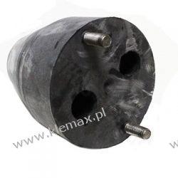 ODBÓJ RESORU PRZYCZEPA HL 6011 M12/125x155mm, 2 ŚRUBY