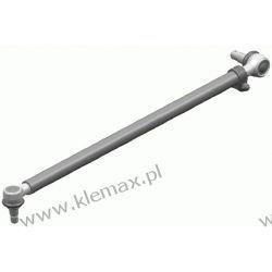 DRĄŻEK KIEROWNICZY WZDŁUŻNY L-658mm, MERCEDES O303 10.74-09.92 Przednie