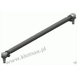DRĄŻEK KIEROWNICZY POPRZECZNY L-1620mm, MERCEDES 1222-3836 08.73-09.96 Łączniki stabilizatorów