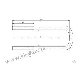 STRZEMIĘ RESORU MERCEDES M20 x 1,5 x 91 x 320 mm Łączniki stabilizatorów
