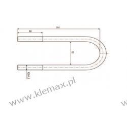 STRZEMIĘ RESORU RVI M20 x 1,5 x 92,5 x 260 mm Motoryzacja