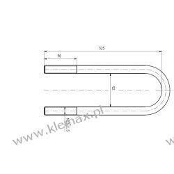 STRZEMIĘ RESORU TRAILOR M22 x 2,5 x 92 x 326 mm Pompy i wysprzęgliki