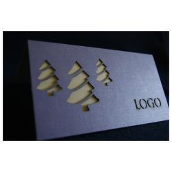 Kartki świąteczne, WYPRZ, LOGO+FVAT, LASEROWE!