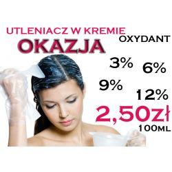 tani UTLENIACZ w kremie OXYDANT 3 6 9 12 % 100ml