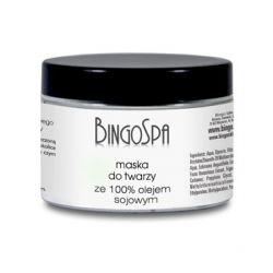 Maska do twarzy z olejem sojowym 100% BingoSpa