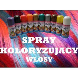 Spray koloryzujacy włosy! FARBA do WŁOSÓW ZMYWALNA