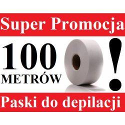PASKI DO DEPILACJA rolka 100 metrów +LAKIER GRATIS