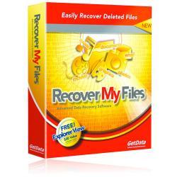 Recover My Files Standard by GetData Ltd - Odzyskiwanie plików - Małe aktualizacje w cenie