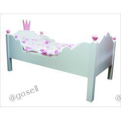 Komfortowe łóżko KORONA