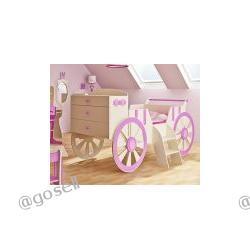 """Komfortowe łóżko KARETA dla """"Małej Księżnicznki"""""""