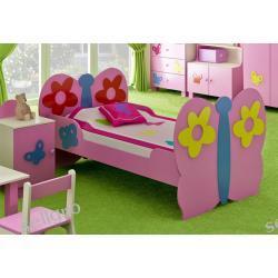 Łóżko dla dziewczynek MOTYL