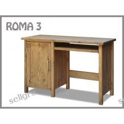 Biurko Sosnowe Roma 3