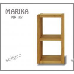 Regał Bukowy Marika MR 1x2
