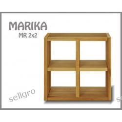 Regał Sosnowy Marika MR 2x2