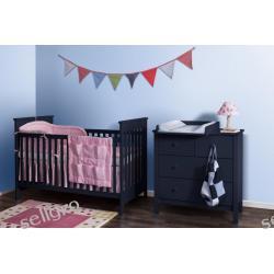 ŁÓŻECZKO NIEMOWLĘCE 70x140 + materac Baby lux