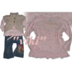 NEXT 2008**Bluzeczka różowa falbanki**CUDO**74cm
