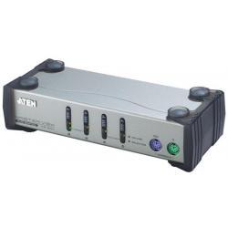 ATEN CS-84A KVM 4/1 PS/2 Master Desktop kable