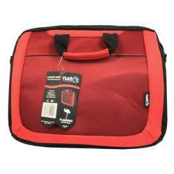 TORBA NOTEBOOK NATEC FLAMINGO RED 15,4""