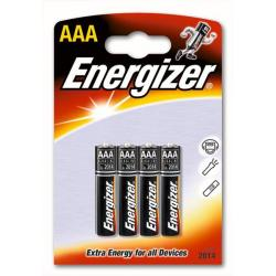 BATERIE ALKALICZNE ENERGIZER 1,5V (AAA 4SZT) LR03