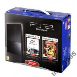 Fabrycznie nowa PS2 Slim  + Tekken 5 + GranTurismo