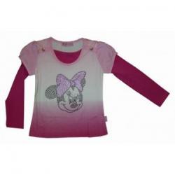 bluzeczka dziewczęca Myszka Mini, Miki rozmiar 116