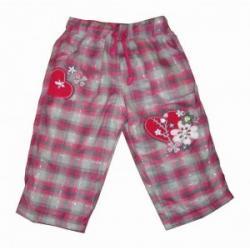 dziewczęce spodnie ocieplane rozmiar 74