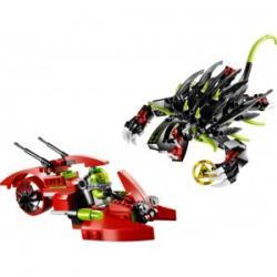 Lego Atlantis głębinowy potwór 8079