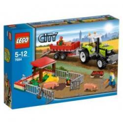 Lego City hodowla świń i traktor 7684