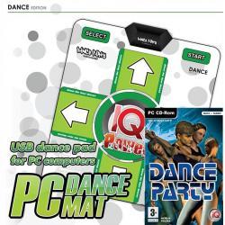 IQP Dance Party PL + mata PC DANCE USB PC