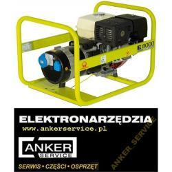 PRAMAC HONDA agregat prądotwórczy E8000 3~ 6,6KW