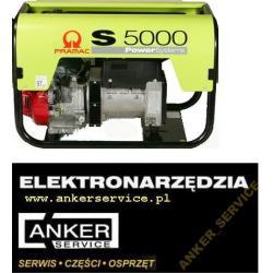 PRAMAC HONDA agregat prądotwórczy S5000 AVR 5,0