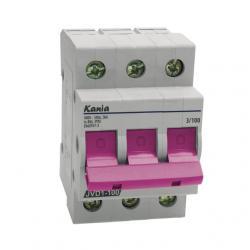 Rozłącznik izolacyjny Kanlux JVD1-100 3/100A purpurowy 100A 3819