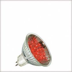 Żarówka LED Paulmann 12V, GU5,3 {|1W, 50000h czerwona 28002