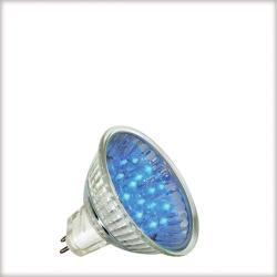 Żarówka LED Paulmann 12V, GU5,3 {|1W, 50000h niebieska 28005
