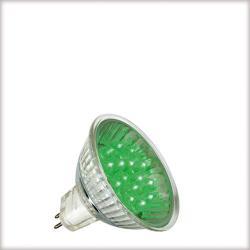 Żarówka LED Paulmann 12V, GU5,3 {|1W, 50000h zielona 28004