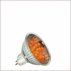 Żarówka LED Paulmann 12V, GU5,3 1W pomarańczowa 28023